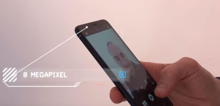 Huawei P Secondary Camera